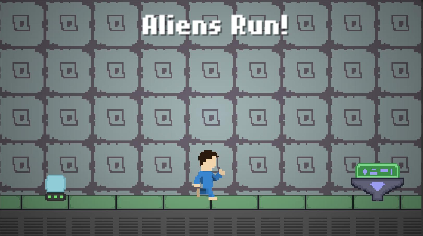 Aliens Run!