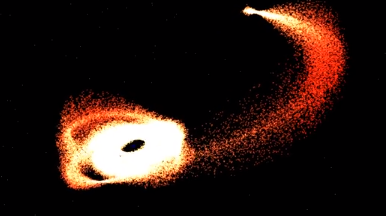 OpenGL Blackhole Particle System