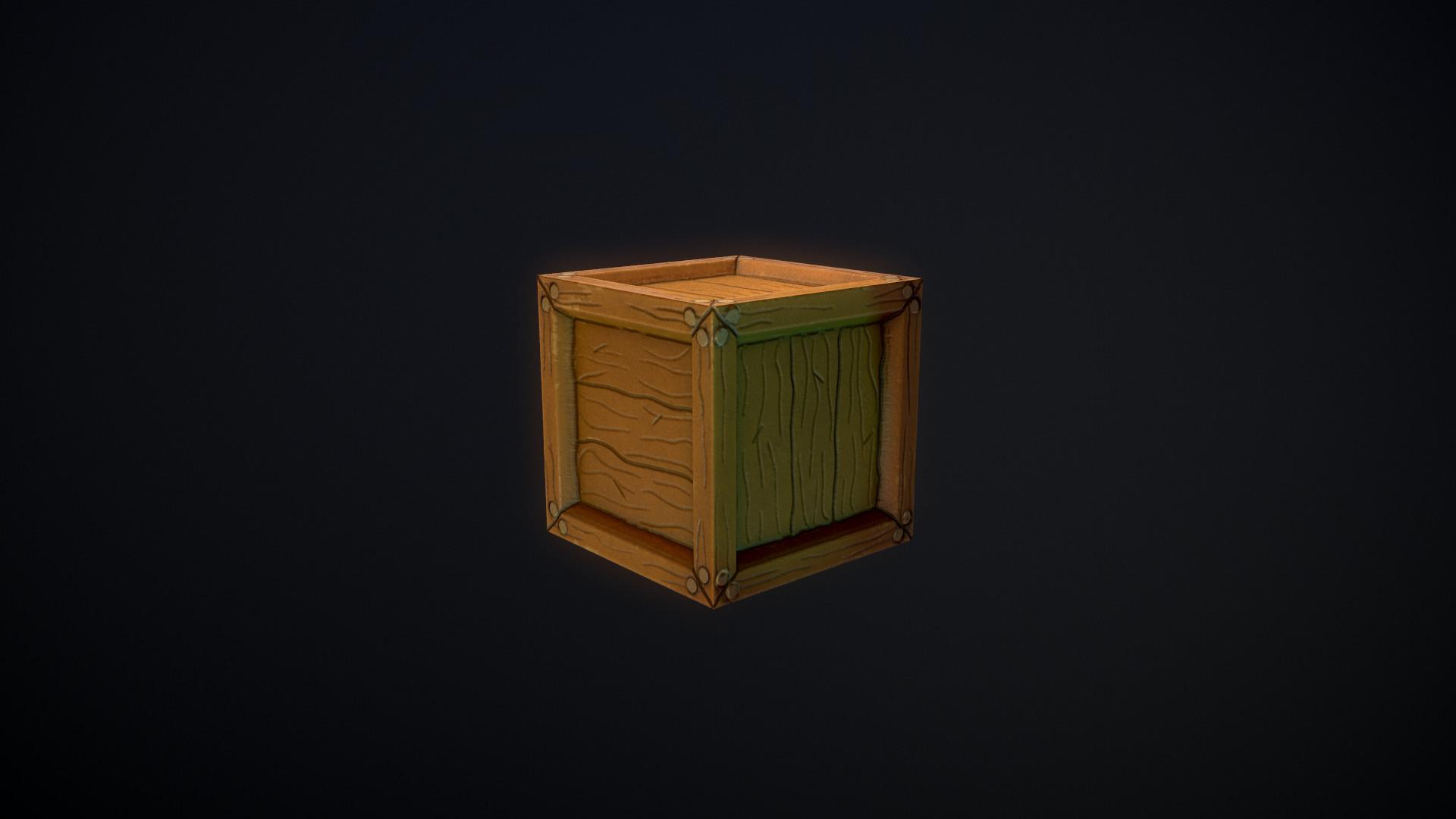 Stylized Crate