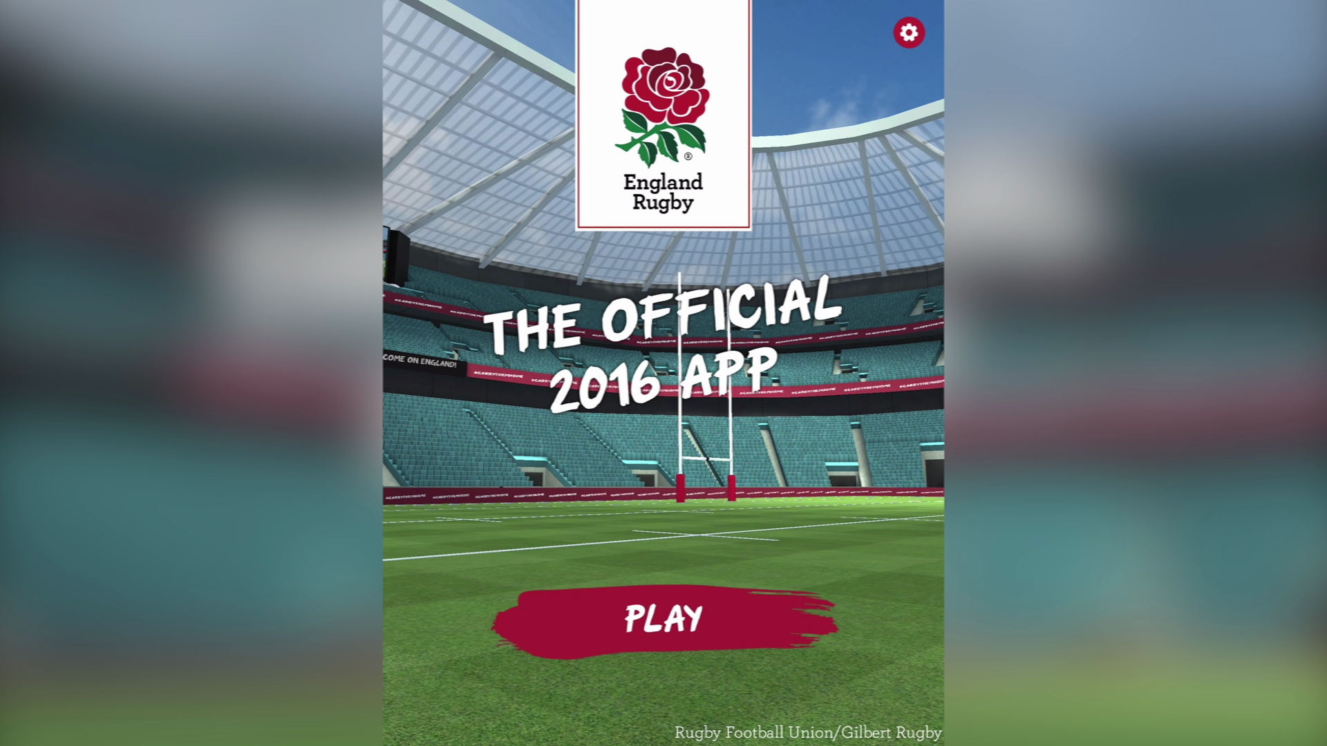 Cube Interactive - England Rugby 2016 (iOS, Android)