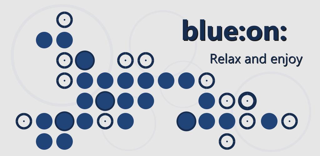 blue:on: