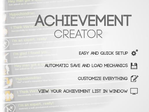Achievement Creator