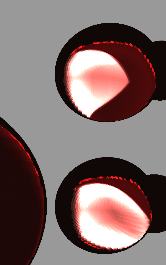 Subsurface scattering shader experiment