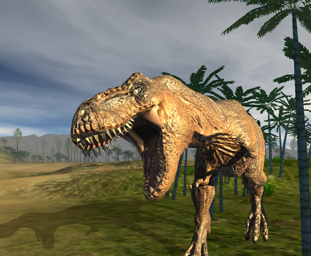 Photon engine and WebGL - Dinosaurs