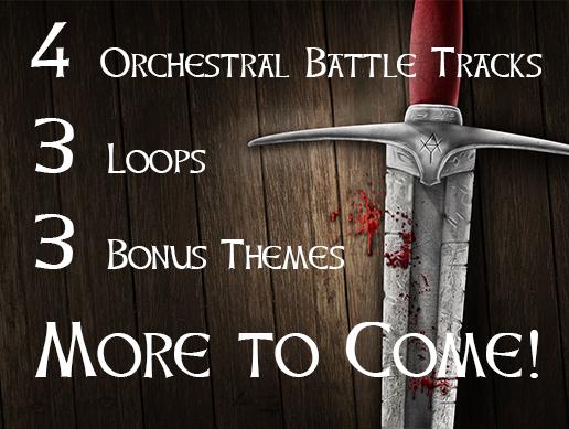 Fantasy Battle Music Free Pack