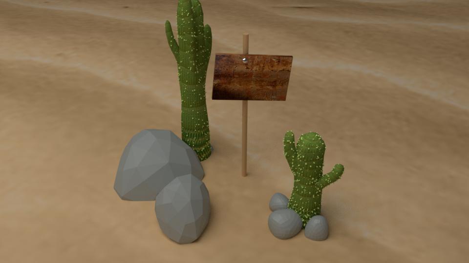 Desert Town Assets