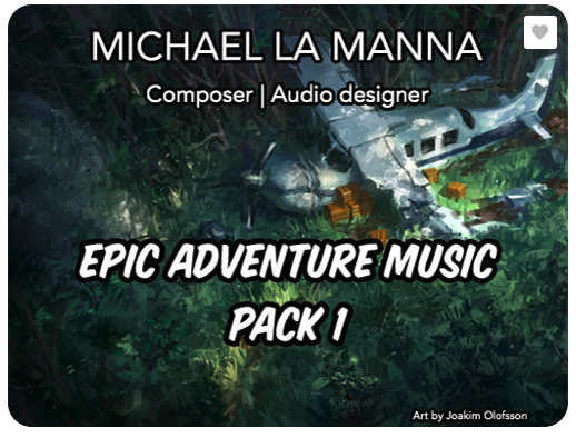 Epic Adventure Music Pack 1
