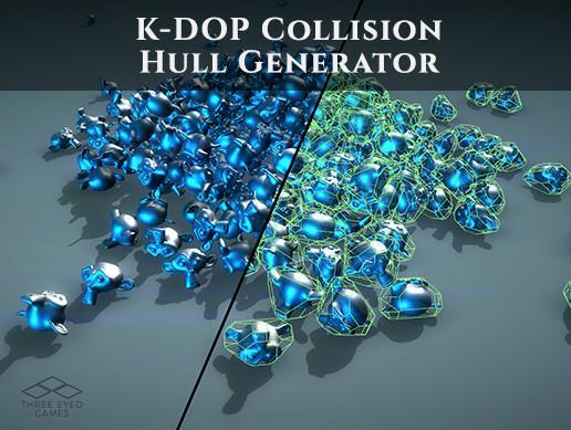 K-DOP Collision Hull Generator