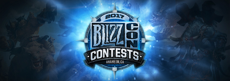 BLIZZCON 2017 CONTEST WINNERS