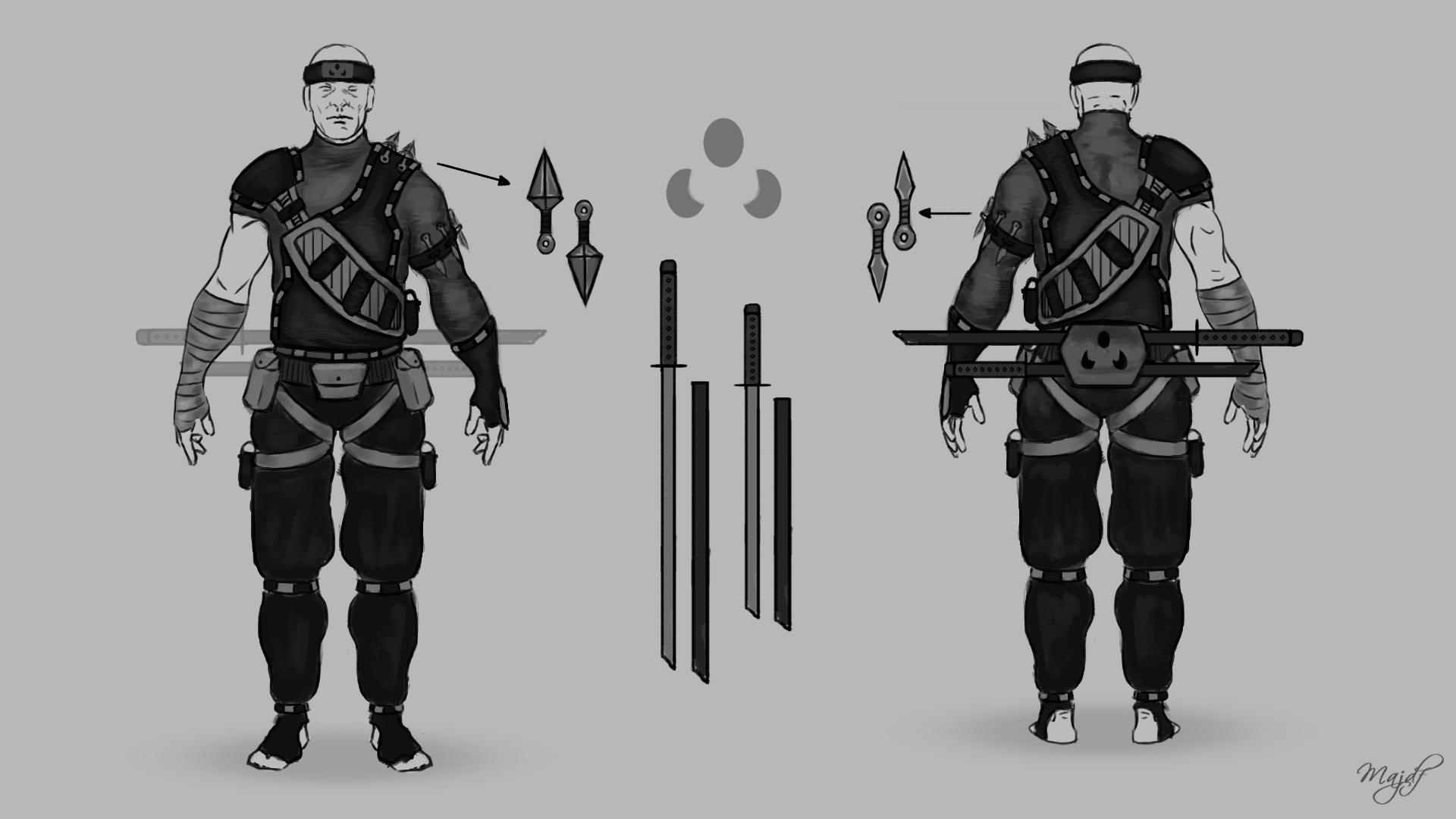 Ninja Outfit Designs