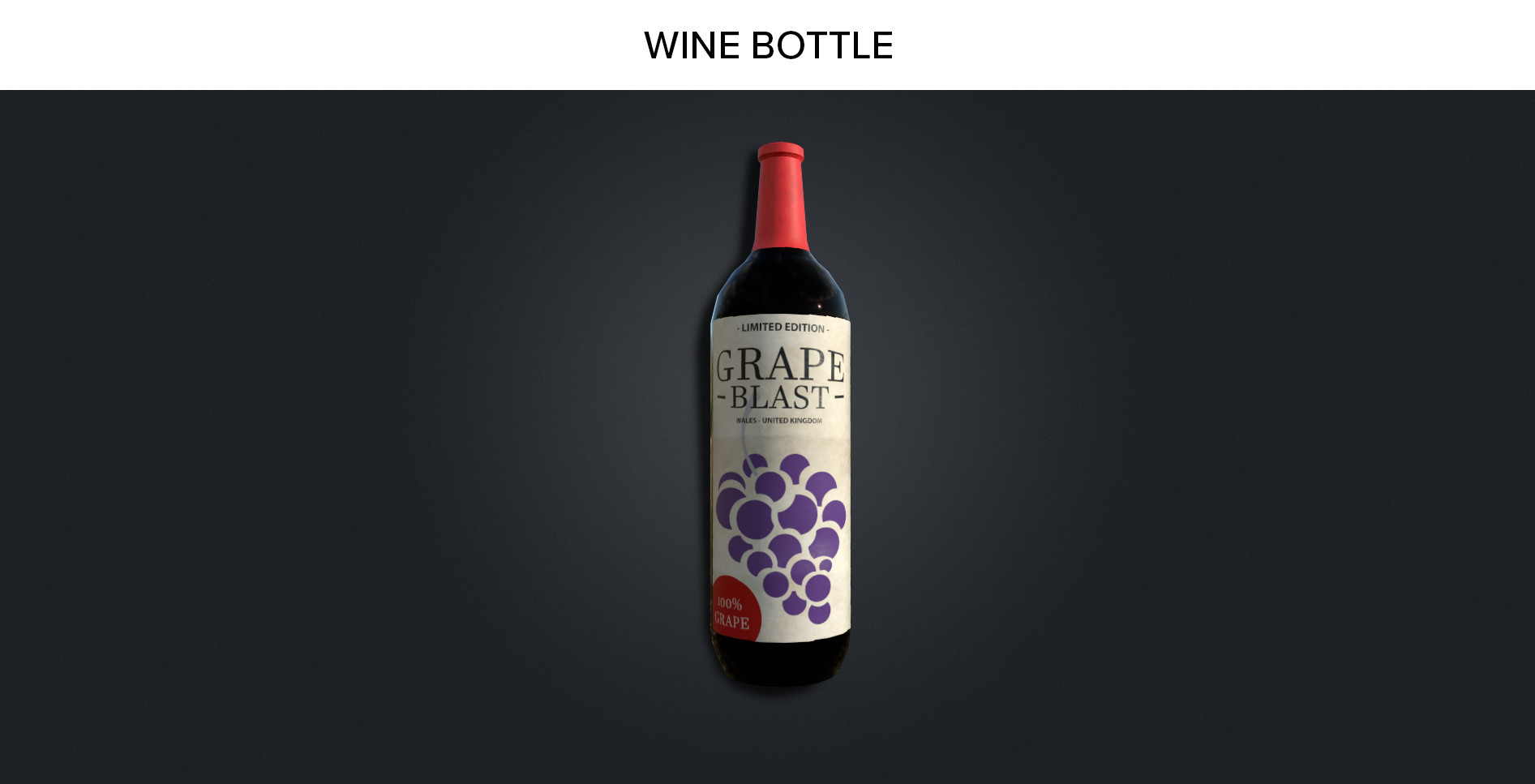 Wine Bottle Prop