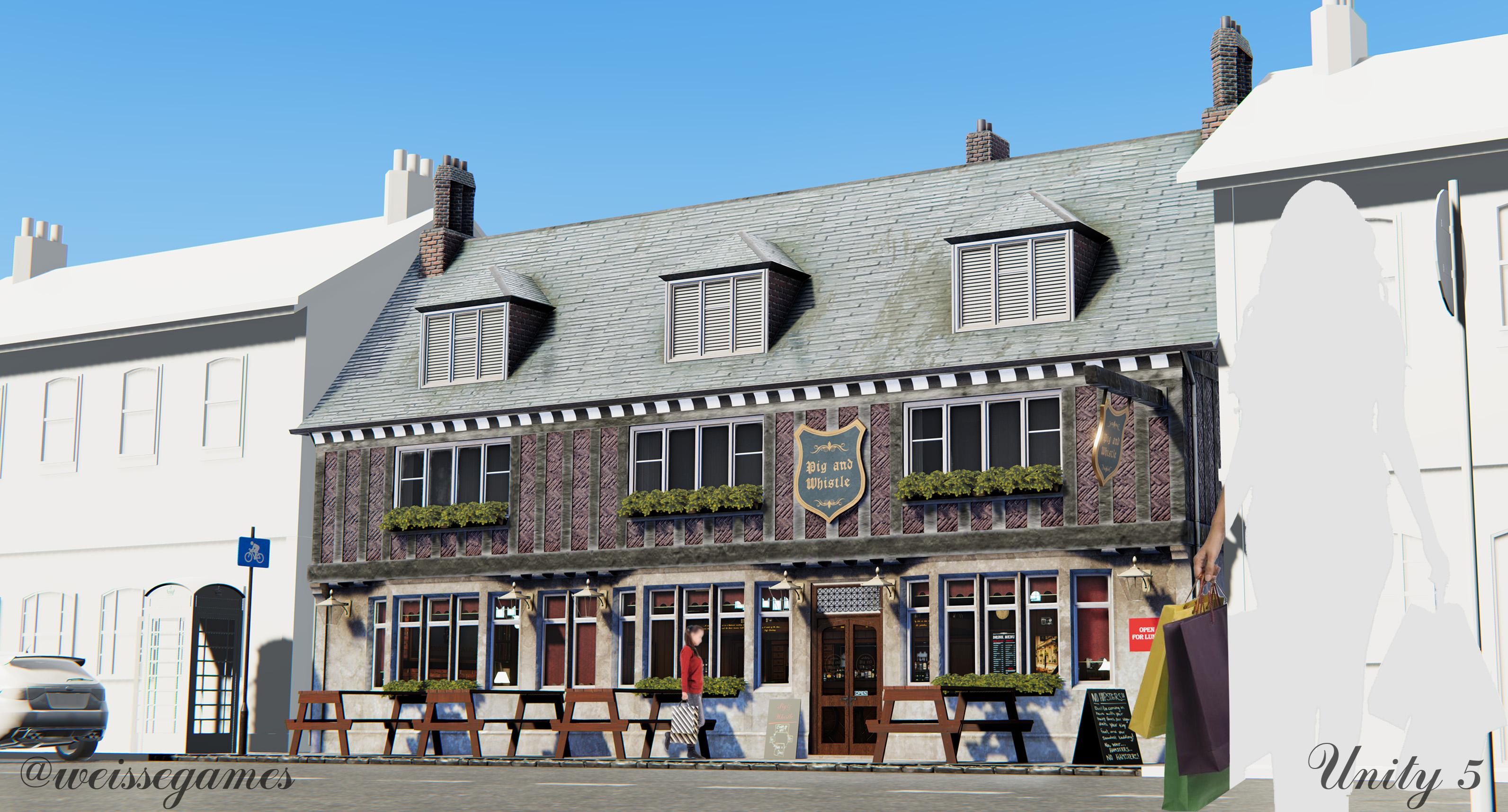 HQ English Pub | Unity 5