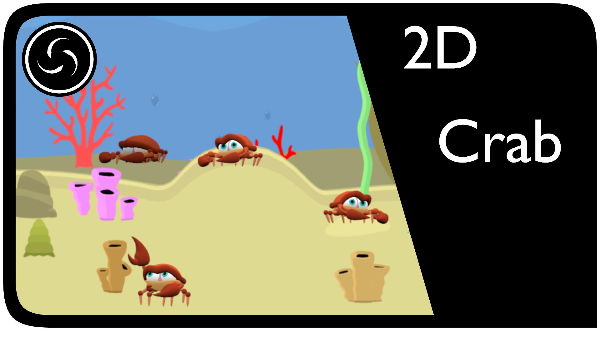 2D Crab
