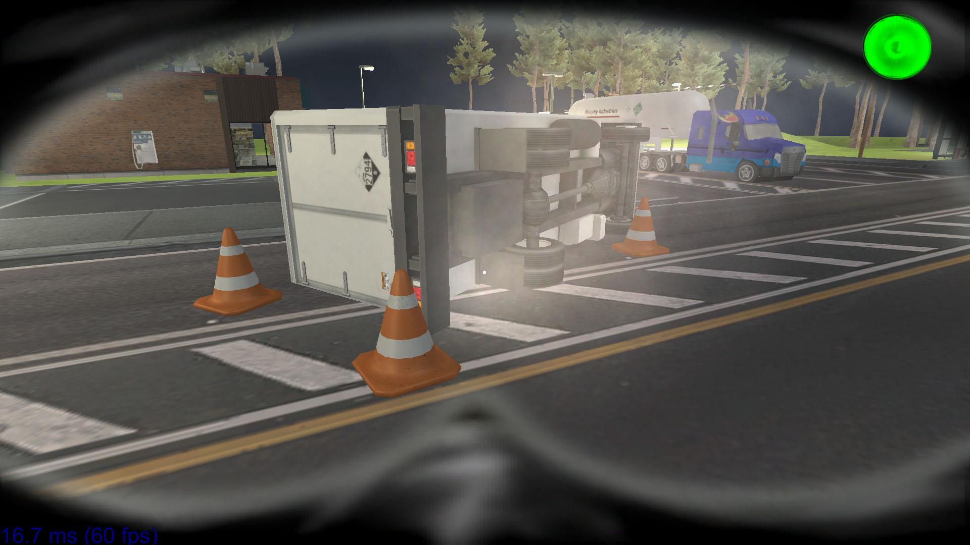 Highway Accident Sim
