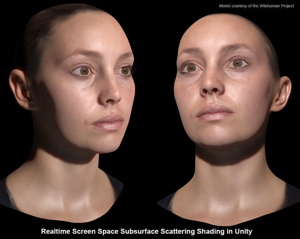 Experimentation: Realistic Skin Rendering
