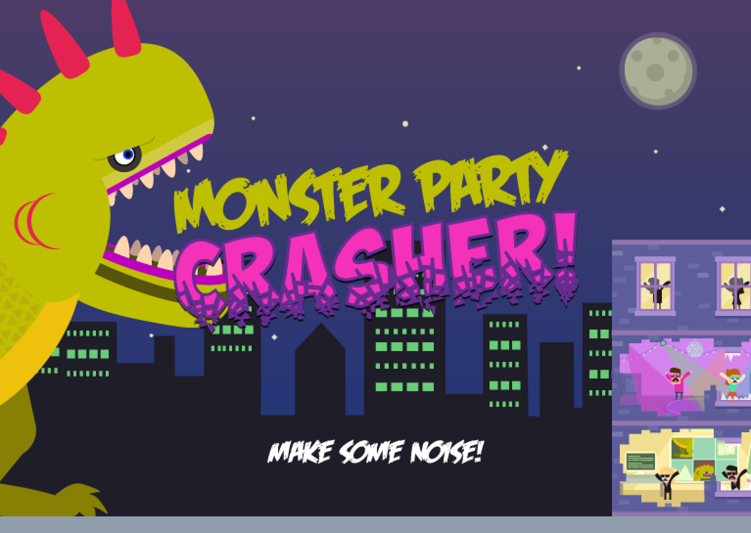 Monster Party Crasher