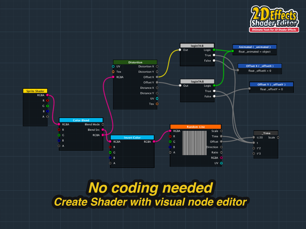 2D Effects Shader Editor