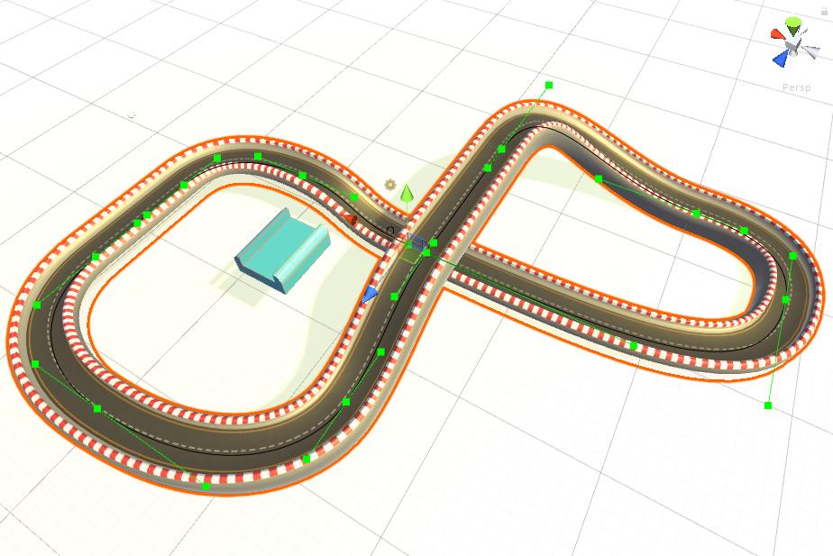 Spline based procedural mesh