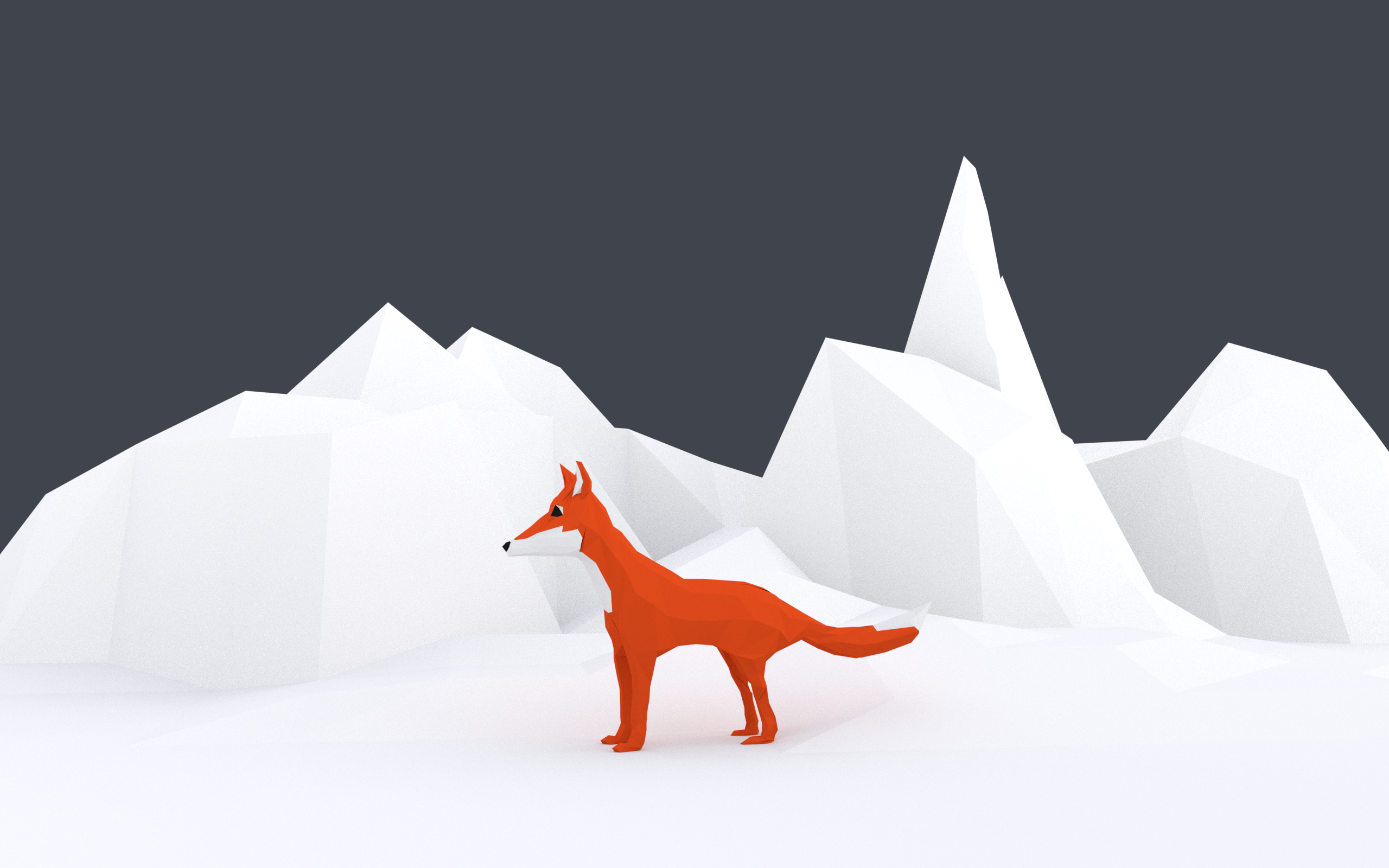 WIP - Low Poly Fox