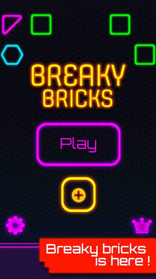 Glow Brick Breaker