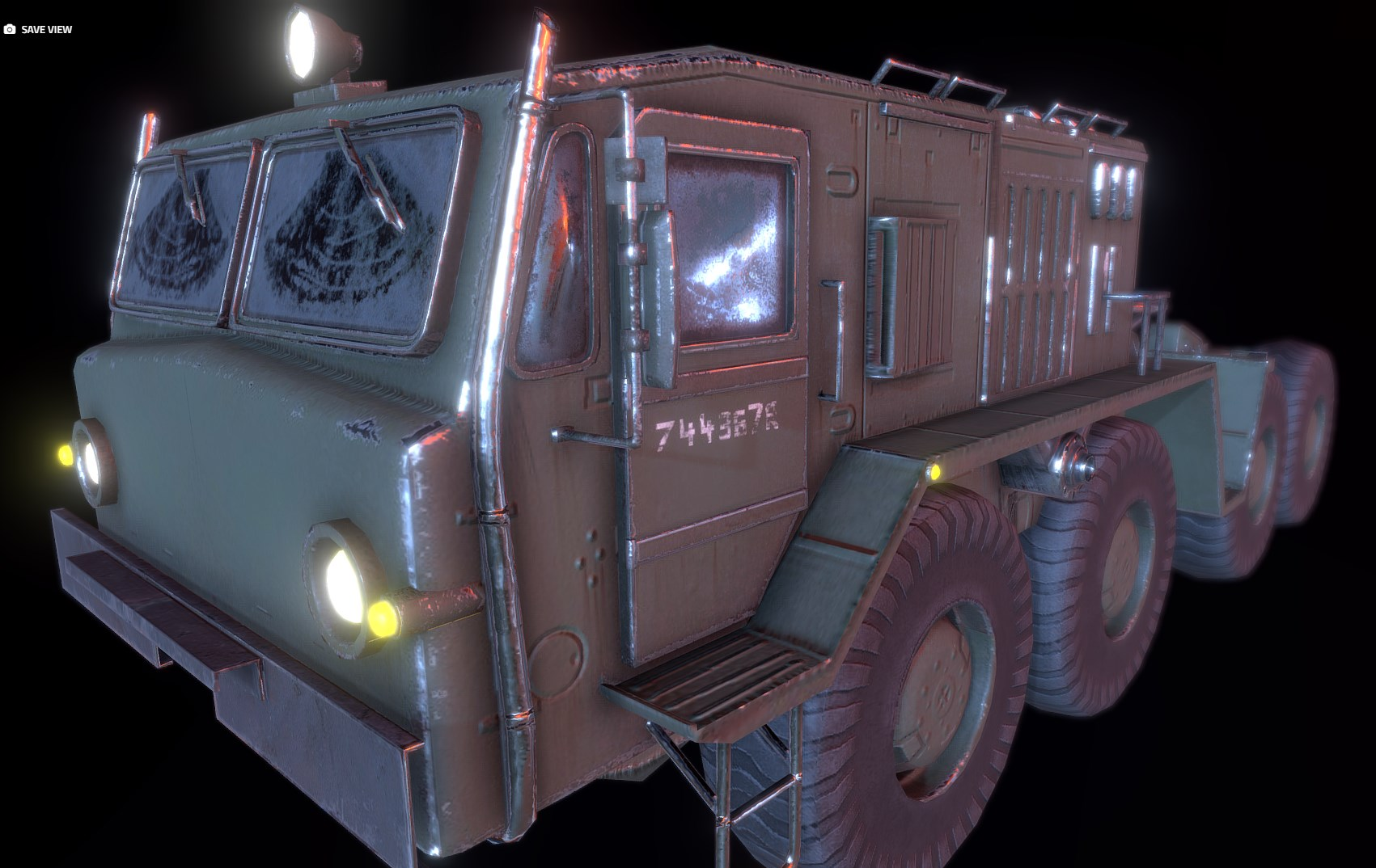 Russian Military Vehicles [29 Prefabs] [Optimized/LP] [PBR]
