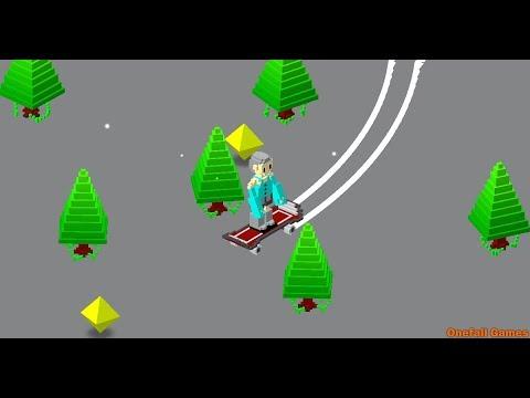 Unity Game Template - Snowy Skate