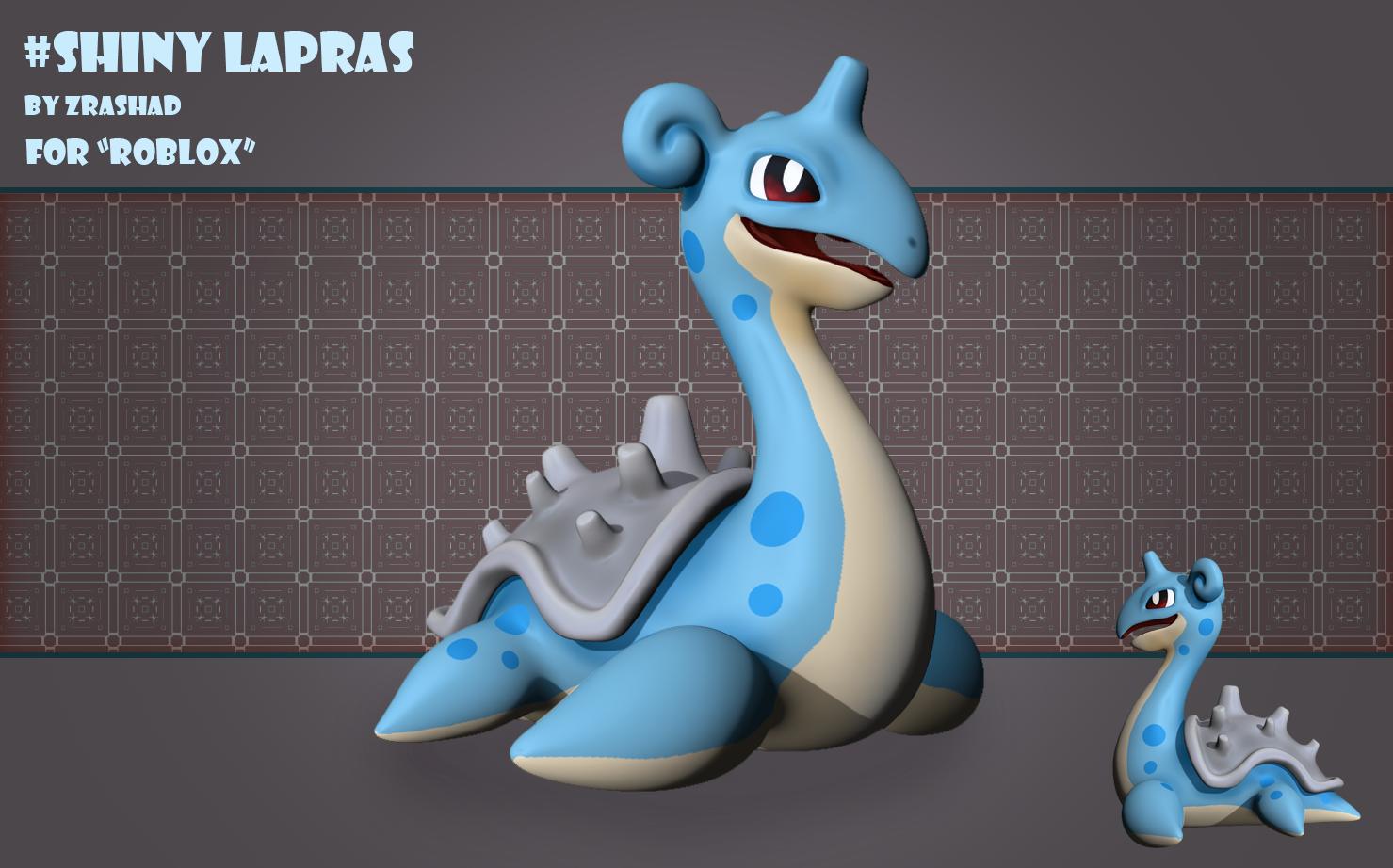 Lapras Pokemon for Roblox Game