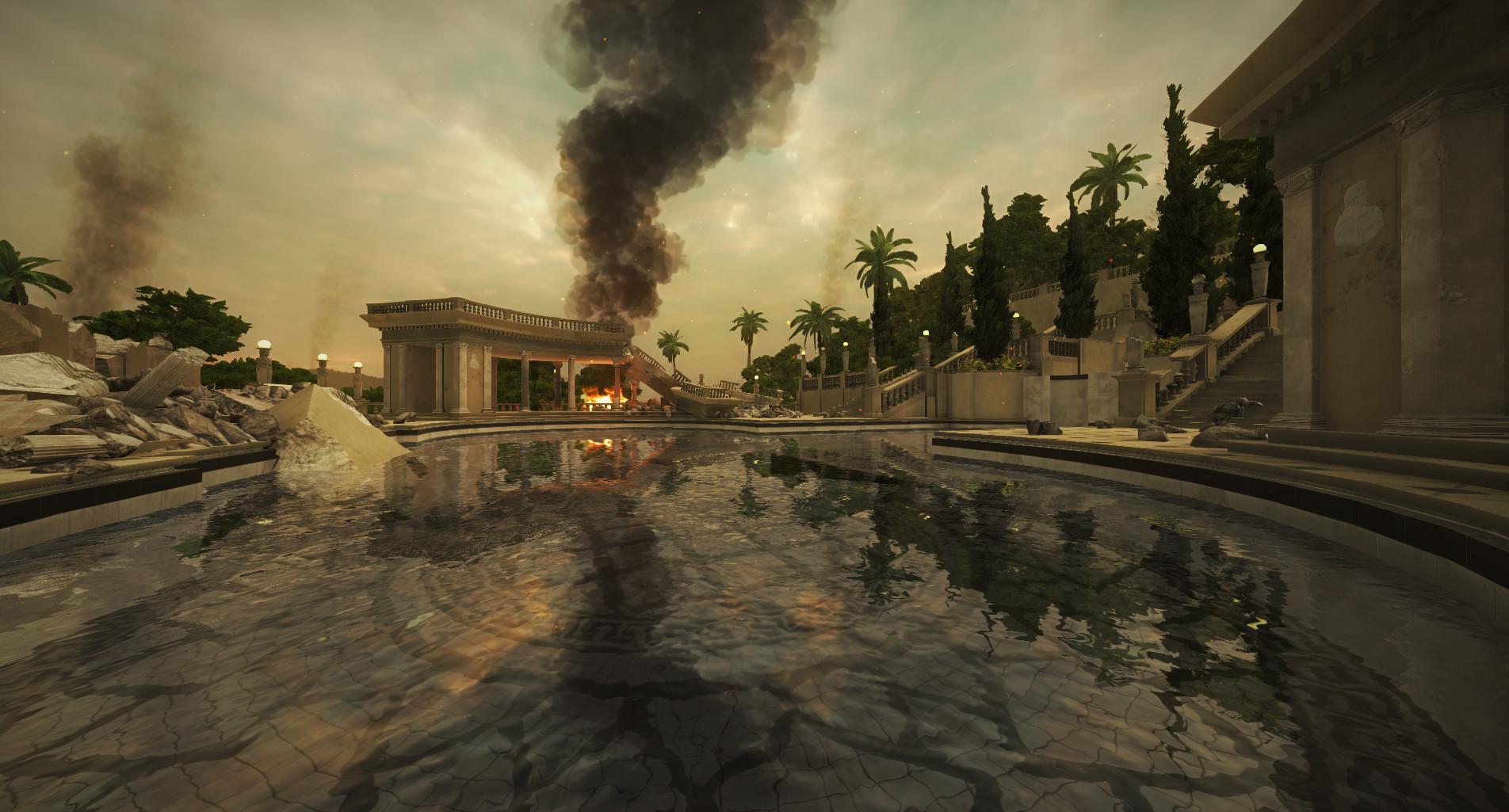 War-torn Neptune Pool