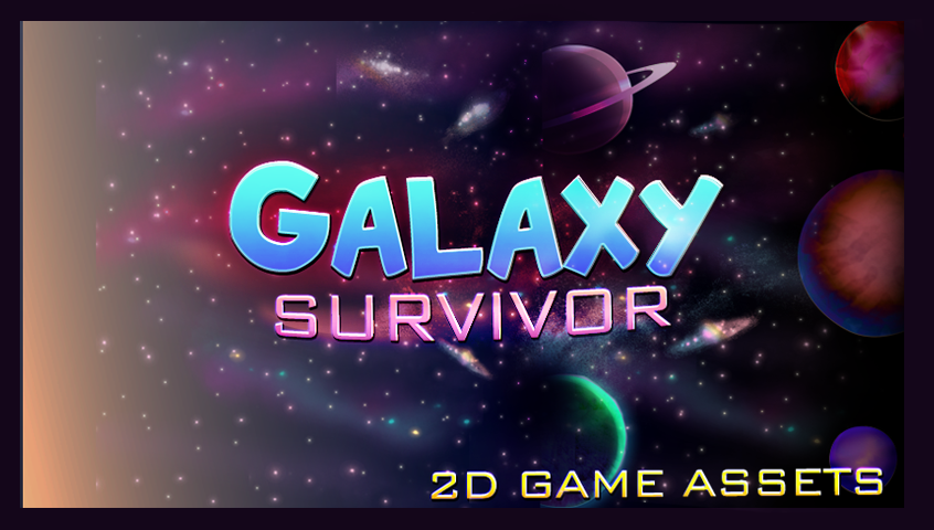 Space Game Assets 2d