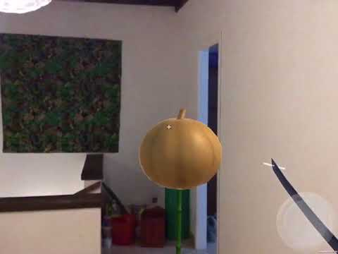 AR Samurai - ARkit fun side project