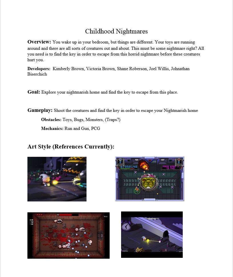 Childhood Nightmares