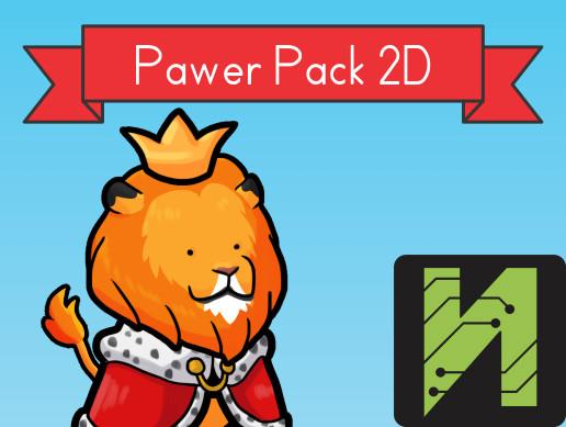 Pawer Pack 2D Asset