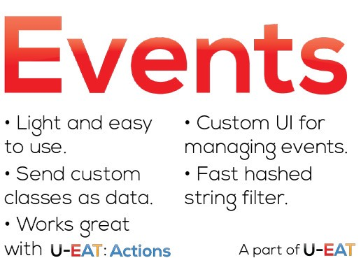 U-EAT : Essential Tools for Unity