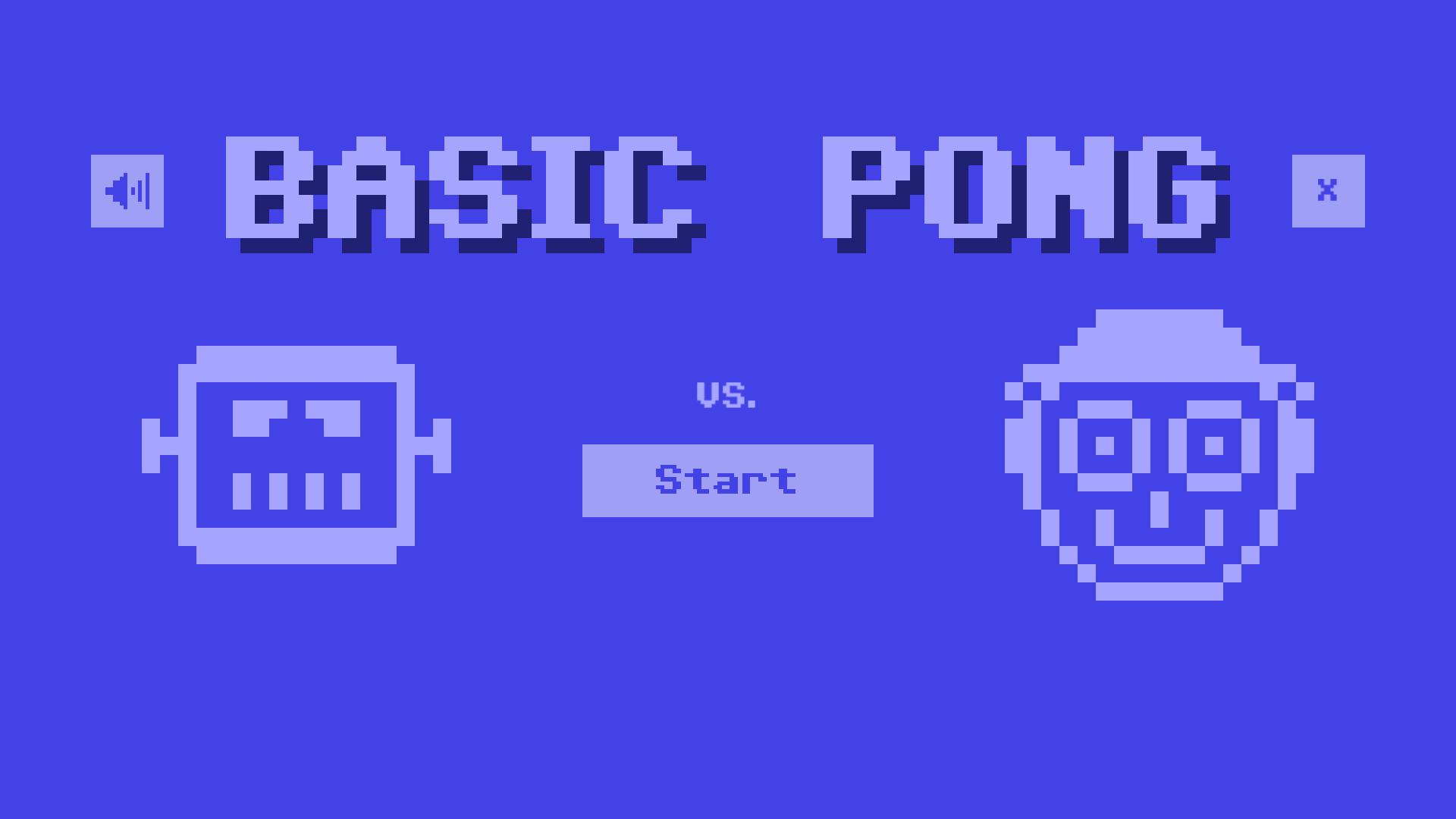 Basic Pong