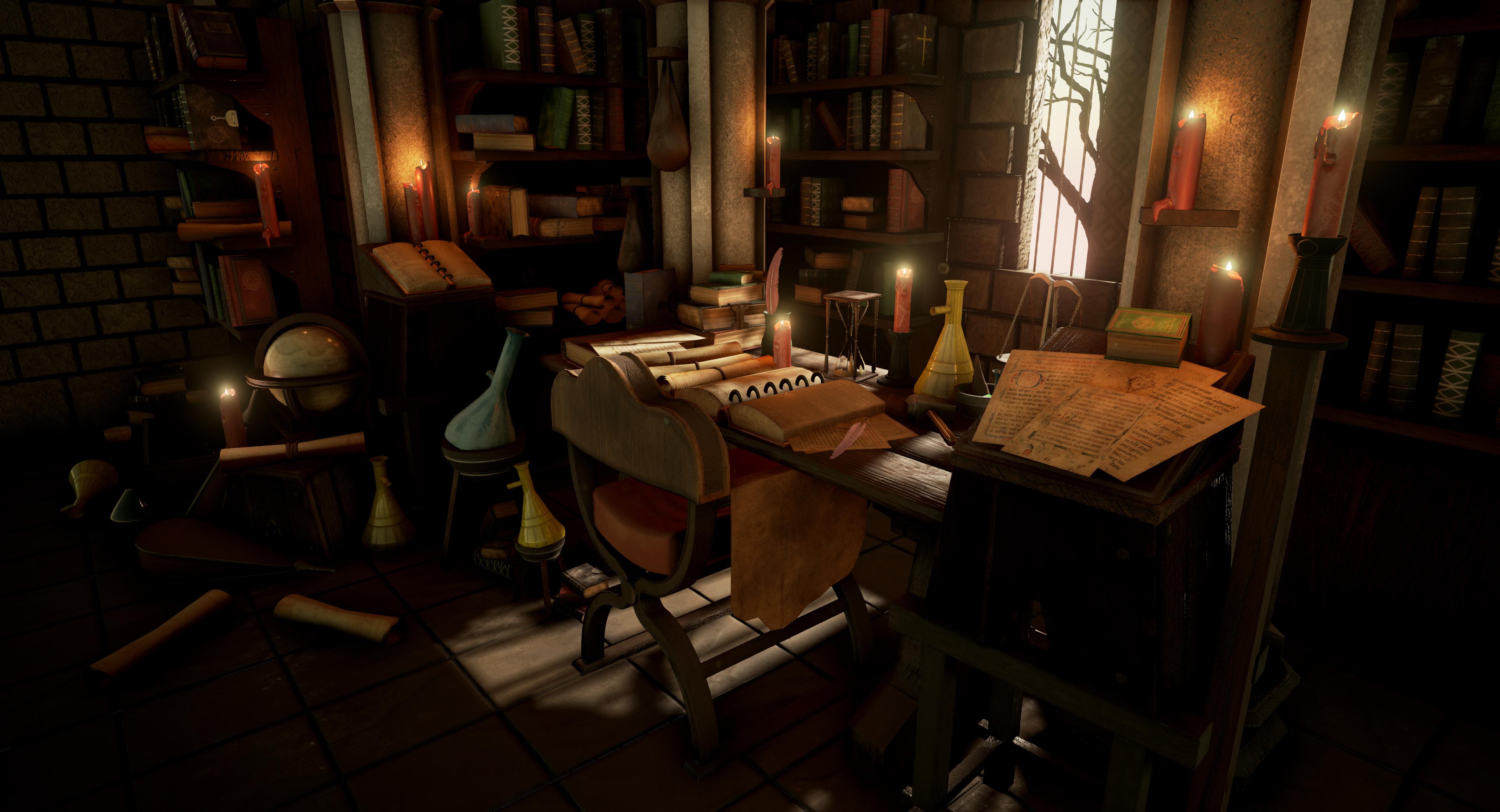 Fantasy Room Concept