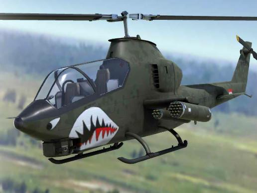 Attack Helicopter of the Vietnam War Era