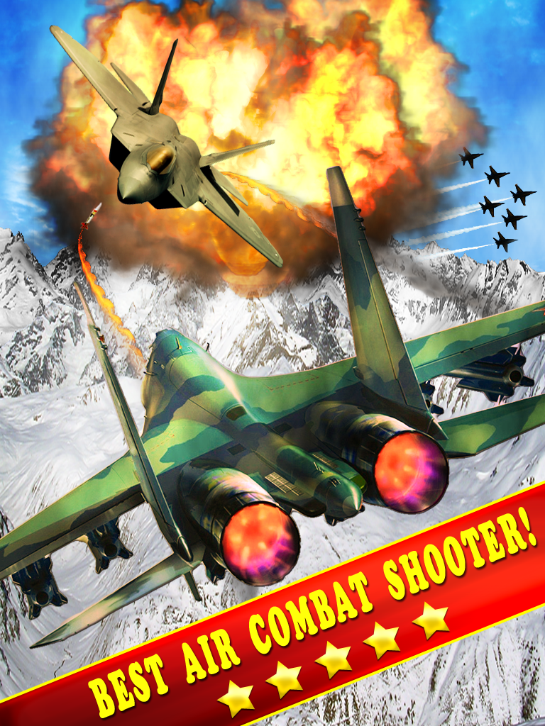Action Jet Fighter game