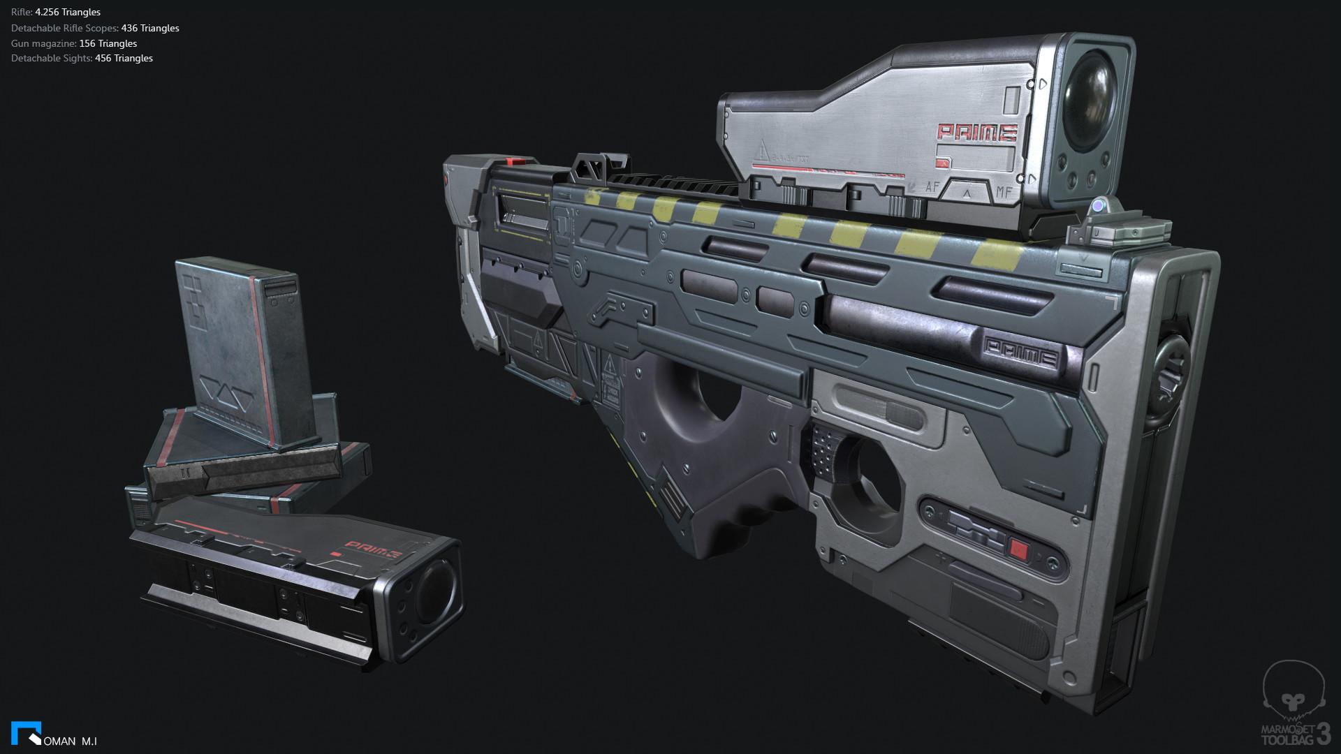Experimental Rifle