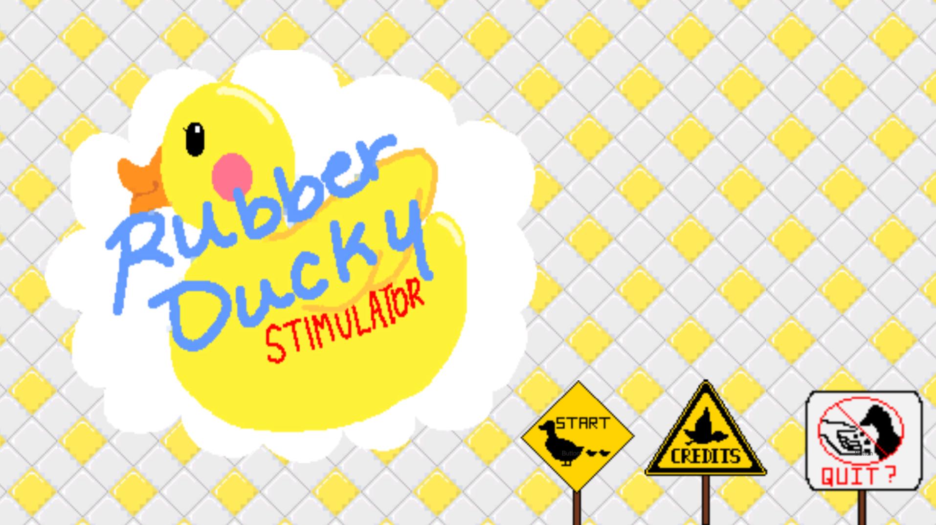 Rubber Duck Stimulator