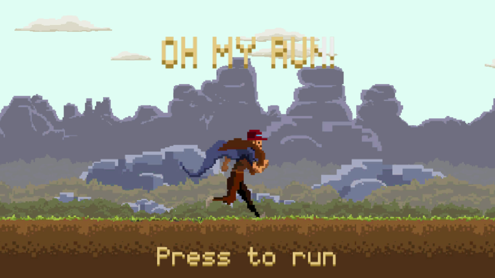 Oh my run!