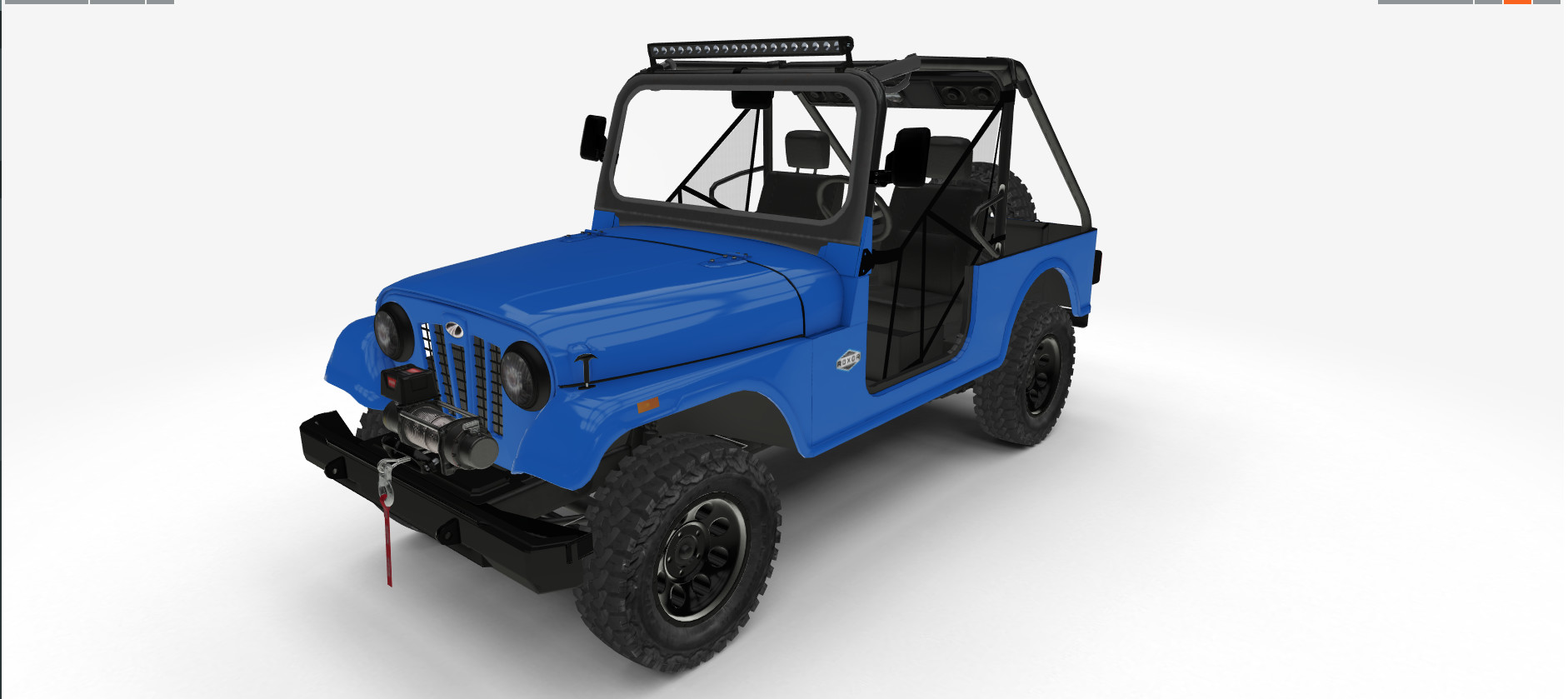 Mahindra Vehicle Configurator