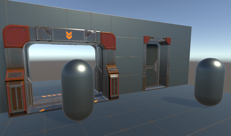 PBR Sci-Fi Doors