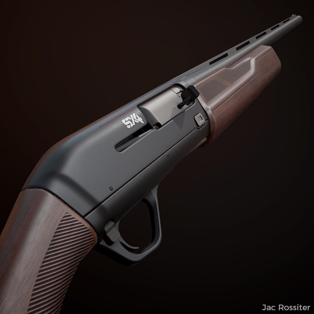 Winchester SX4 Shotgun - VR Asset