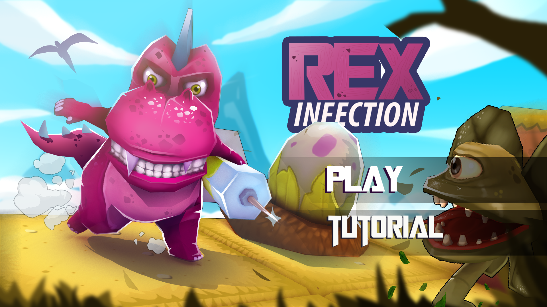 Global Game Jam 2018 : Rex Infection