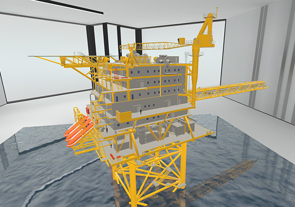 Maersk Oil - Multiuser VR Solution