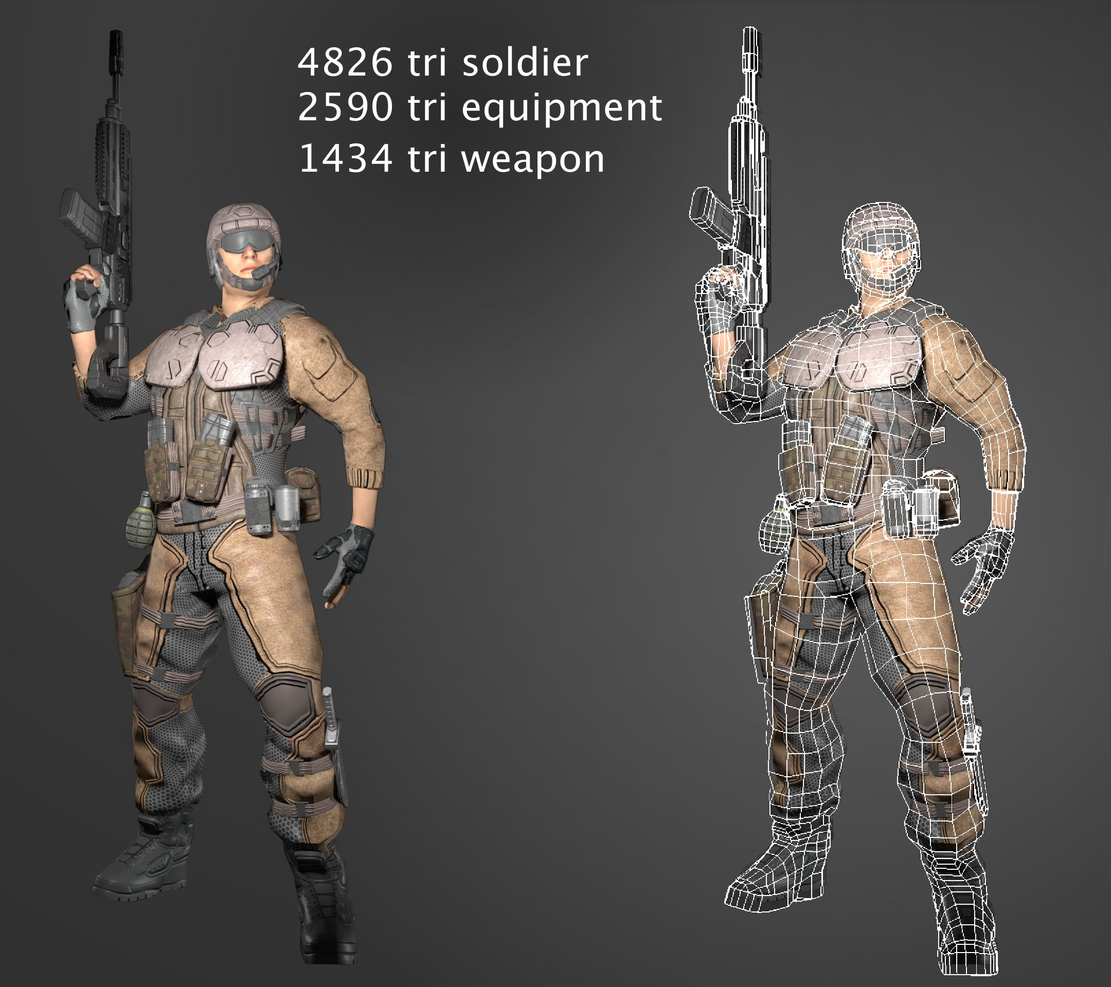 FPS game assets
