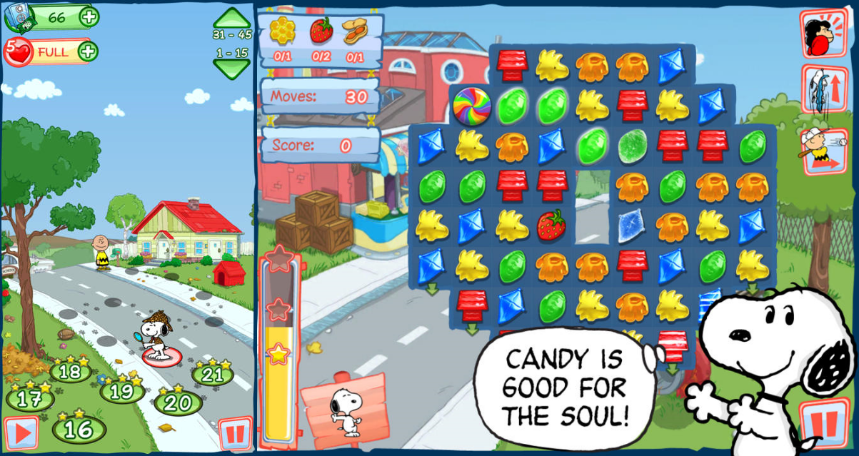 Snoopy's Sugar Drop (Beeline Interactive)