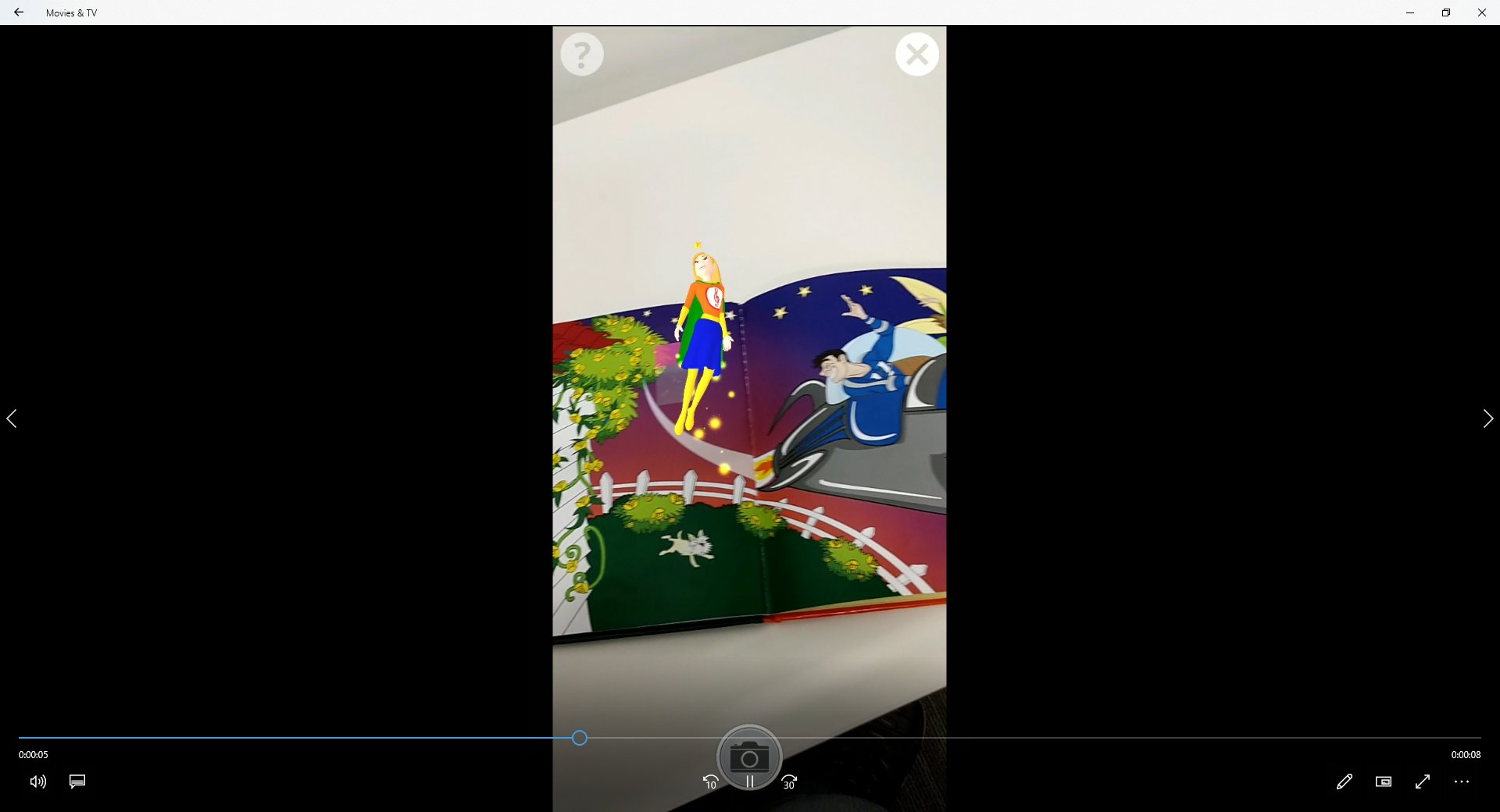 AR Animated Book  (Augmented Reality)