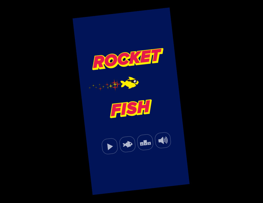 Rocket Fish / Endless runner / iOS & Android