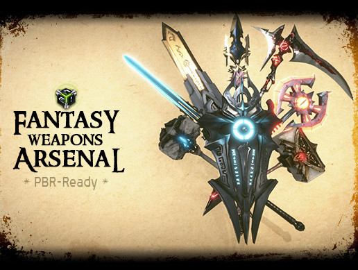 Fantasy Weapons Arsenal